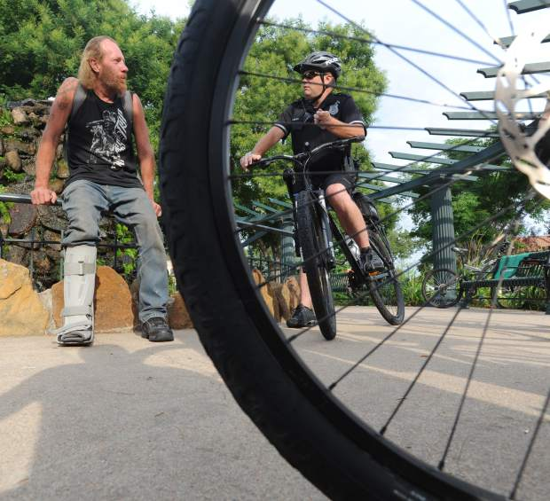 Greeley's bike patrol officers show the public police can laugh, be friendly