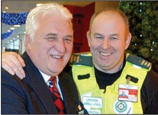 Heathrow bike medics' decade of saving lives