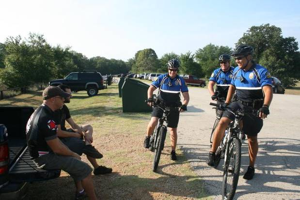 Flower Mound police bike patrol returns to foster community engagement, officer versatility