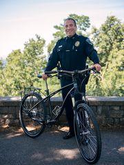 Burlington police receive bicycle fleet