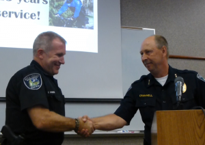 Mill Creek Bike Patrol Officer Mike Harris retires after 30 years