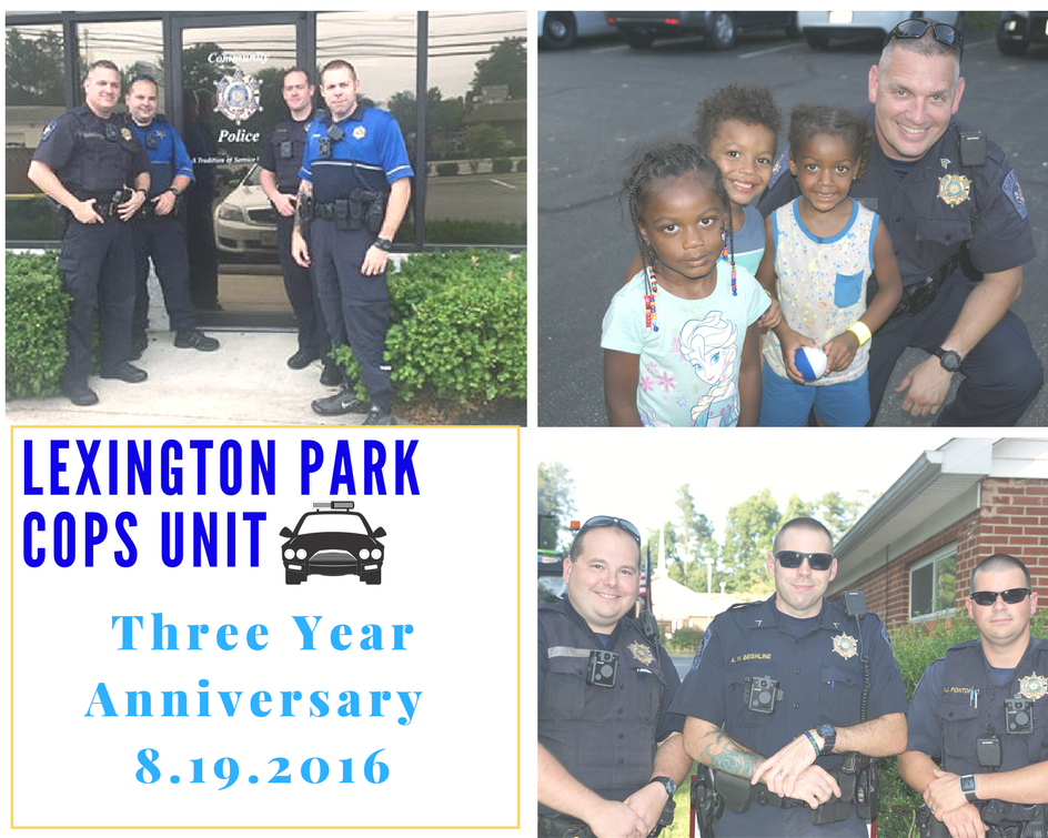 Lexington Park Community Oriented Policing Unit (COPs) Unit Celebrates Three Year Anniversary
