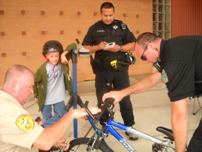 Shorewood Police Department's Deputy Chief Eric Allen coordinates bike patrol program
