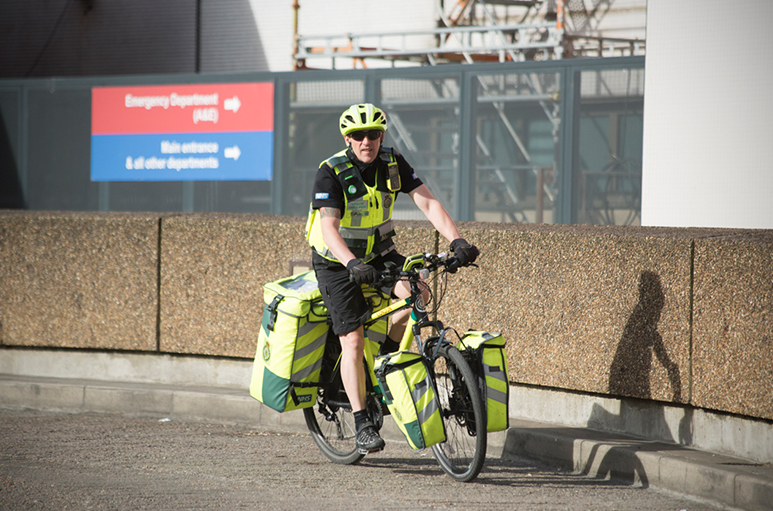Tim Chivers: London Cycling Paramedic