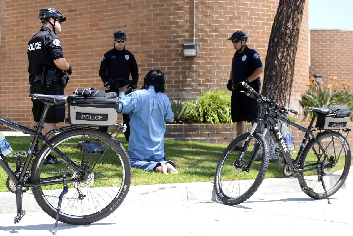 Costa Mesa police launch bike patrol to fight drug influx, engage community