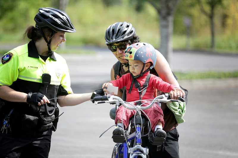 Tigard Police launch bicycle patrol team to protect trails, paths.