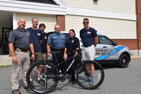 Police spoke in praise of bike