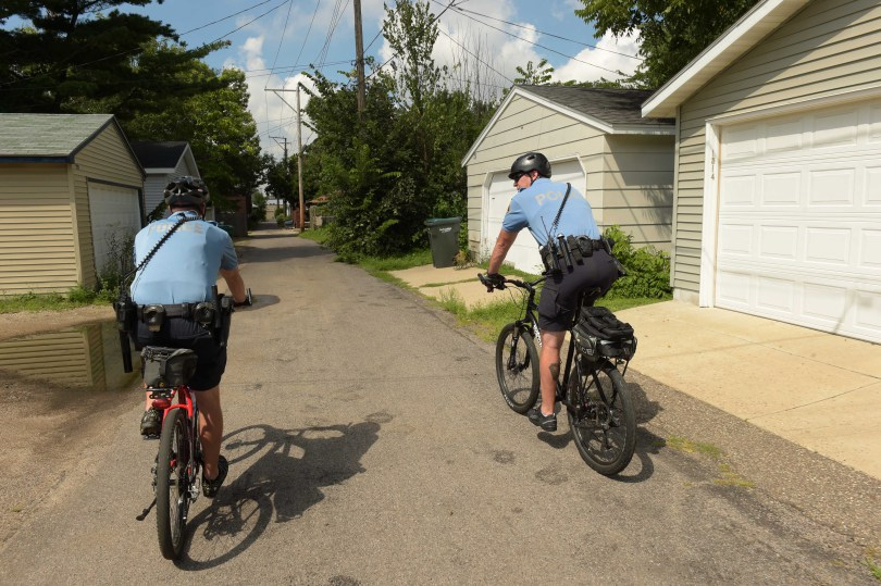 One big plus for St. Paul police bike patrol: 'The criminals hate it'