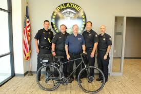 Palatine Police Grateful For Bicycle Donated By Local Business