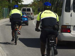 Cops get on their bikes to get back into community