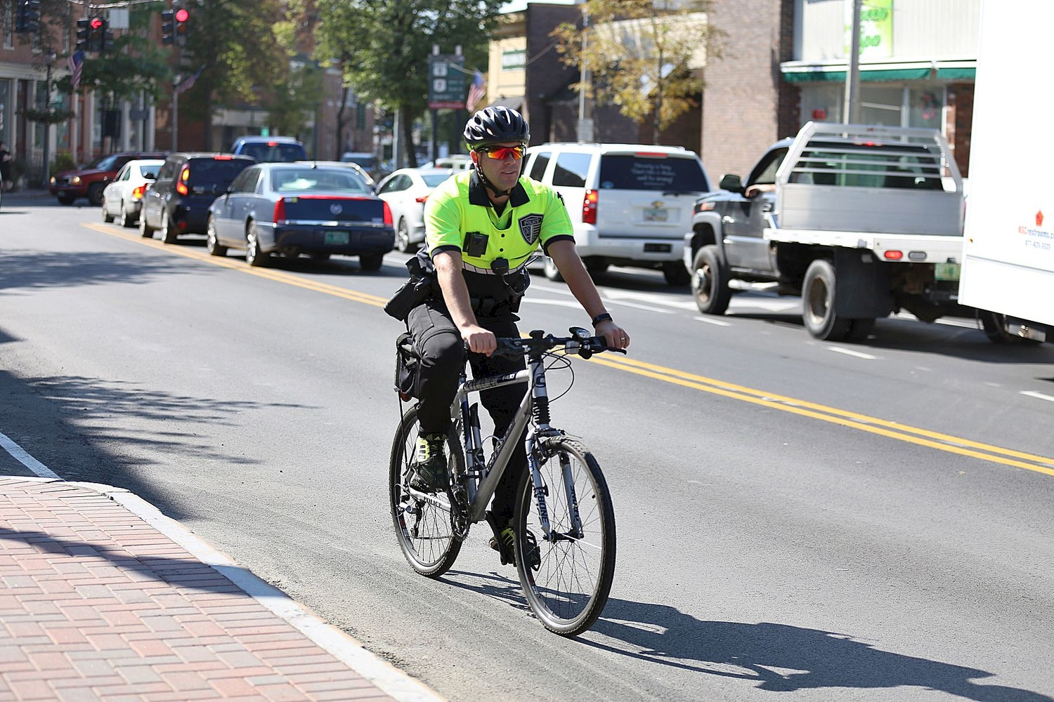 BPD Bicycle Patrol Unit allows police visibility, community interaction