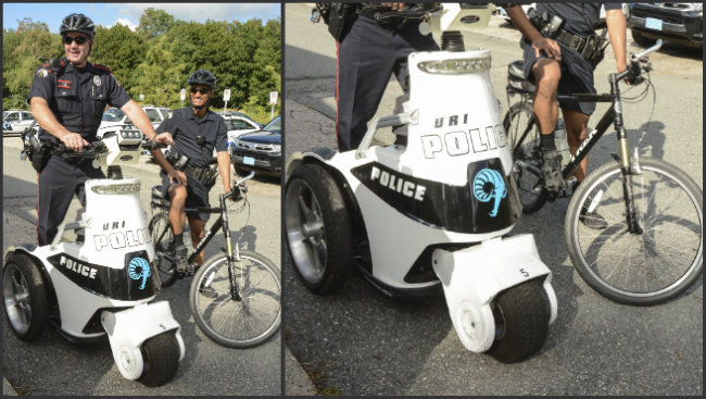 More URI campus cops using bikes