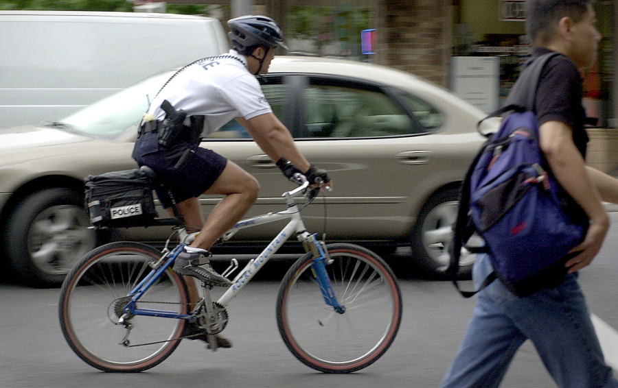 Vancouver Police Department resurrects bicycle officer unit