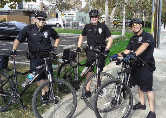 Donor funds Glendale police patrol bikes
