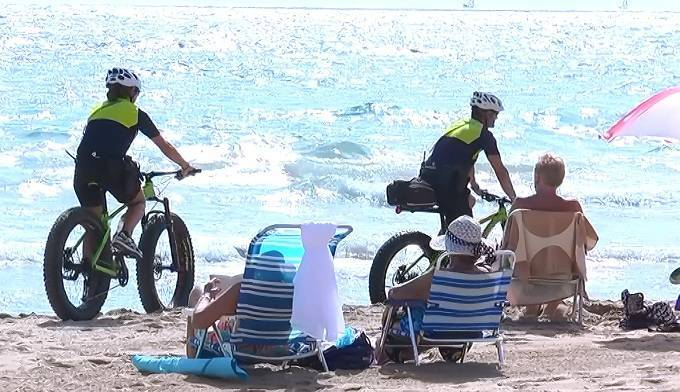 BIKE TRIAL SUCCESS FOR POLICIA LOCAL
