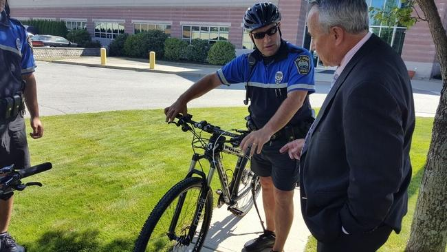 Fall River nonprofit donates $5.5K to purchase new police patrol bicycles