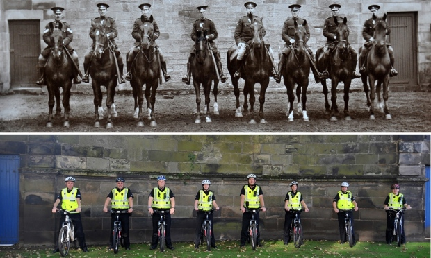 Police teams still in the saddle to reassure communities in Fife