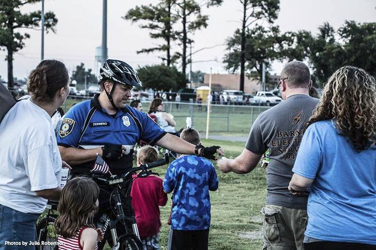 Residents raise funds to purchase new sirens for police bike patrol