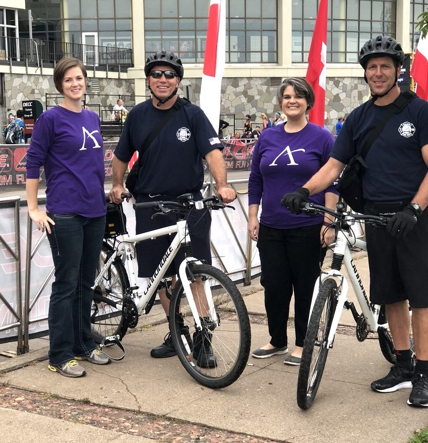 Affinity Plus partners with Duluth Fire Department on bicycle EMT unit to support public safety