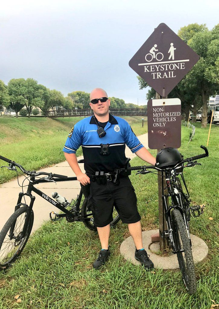 Omaha police hear cyclists' concerns, will continue to patrol trails