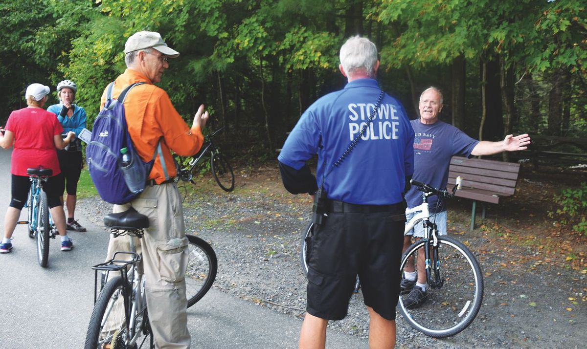 Stowe police bike patrol good for safety, community connections