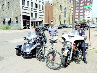 Bikes Offer Stealthy Approach to Wheeling Police Work