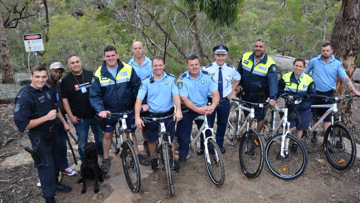 Riding the Oaks fire trail to prepare for bushfire season