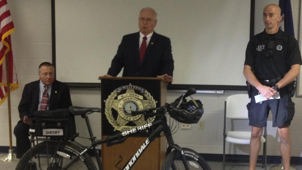 Sheriff awarded for Rural Bike Patrol program success