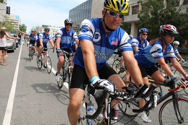 MPD Hosts Its First-Ever Community Bike Ride
