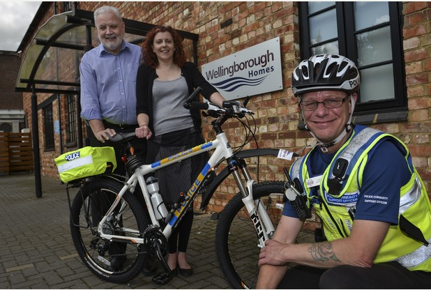 Housing provider funds new bikes for Northamptonshire Police