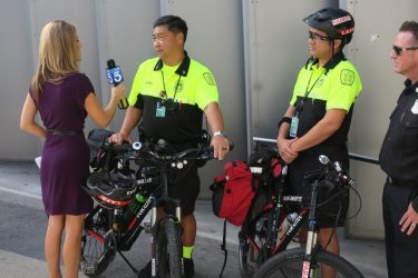 Bike medics make their debut at LAX