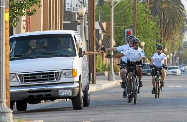 San Bernardino police bike patrol focuses on community