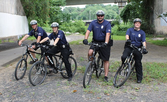 Bike Patrols Take Shelter's Officers Closer to Animals