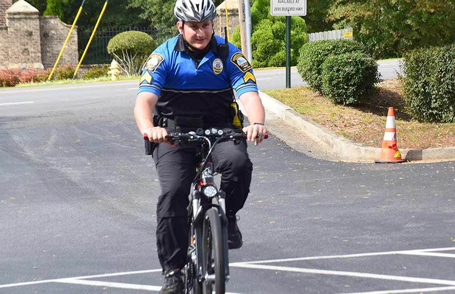ElectroBike Georgia donates customized electric bicycle to Brookhaven Police Department