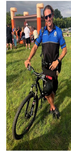 Online fundraiser for OPD bike patrol