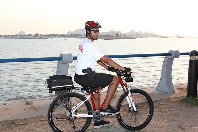 Abu Dhabi Police launch bicycle patrols