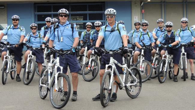 Police bike squad gets rolling around the Hills