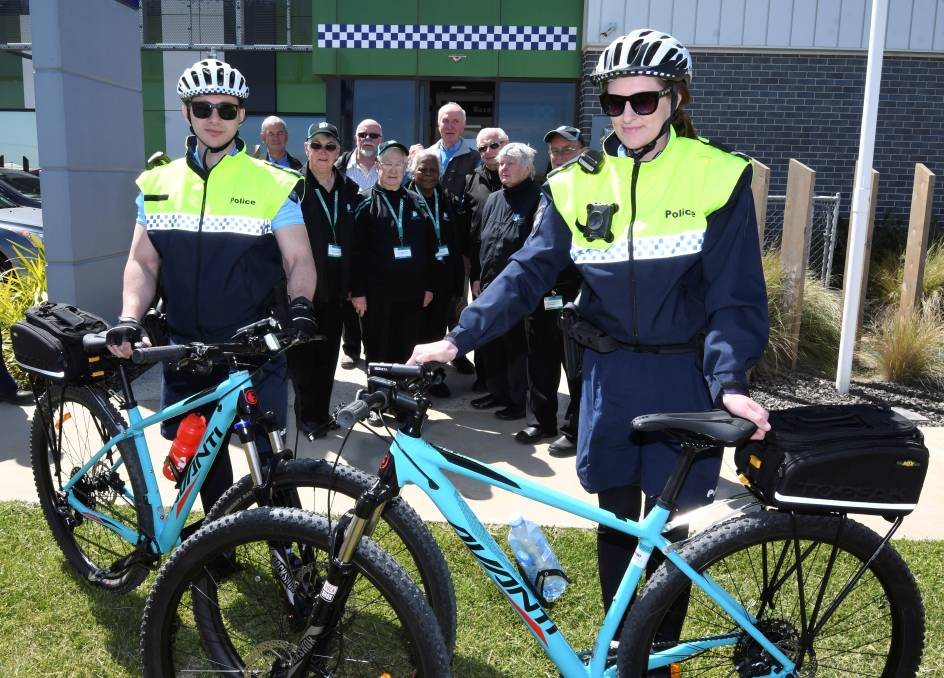 Police riding high thanks to new bikes from Neighbourhood Watch