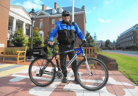 Annapolis Capitol police return to two wheels