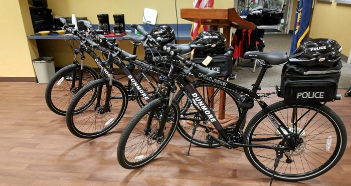 Dunmore plans to increase community policing with bike patrols