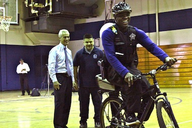 Watch Chicago Bike Officers Get Trained (Hint: There's An Obstacle Course)