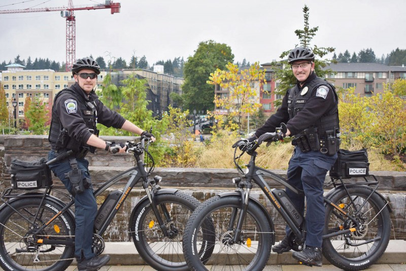 Bothell police blazes the e-trail