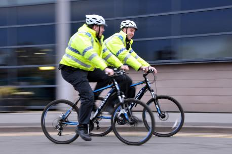 Marlborough Police get on their bikes