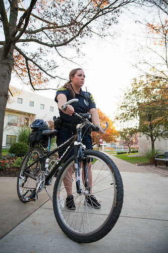 IUK police to increase campus presence with bike patrol, RAD classes