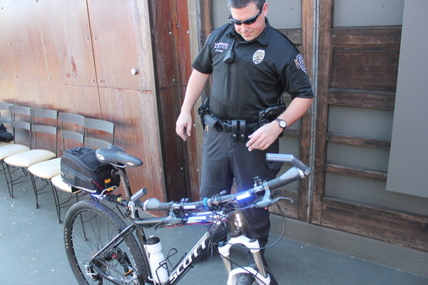 Switch box helps bike patrol keep hands on