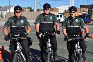 Claremore PD bike unit recruits two officers