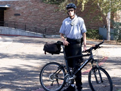 Give the bike cops a brake: Campus Service Officers enforce bike safety