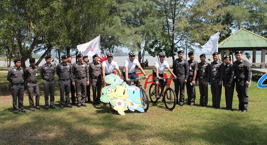 Phuket police get on their bikes