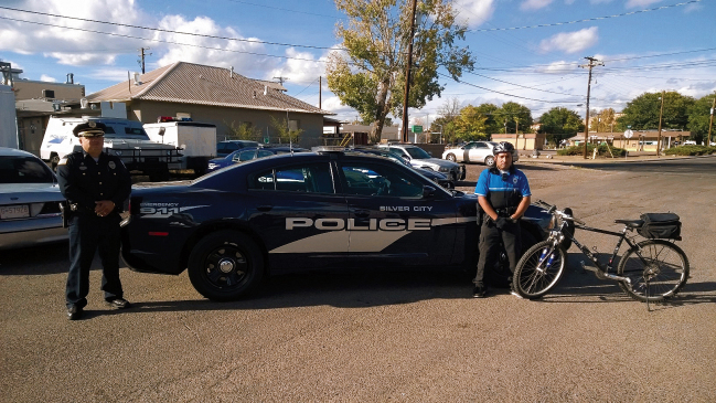 New bikes and new fleet of cars to patrol Silver City