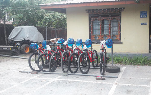 Bikes to enhance patrolling in S/Jongkhar